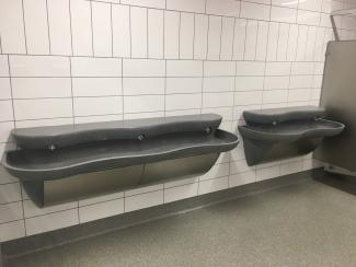 Bonner Springs High School Restroom Sinks